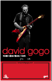 David Gogo Live Performance Poster Large